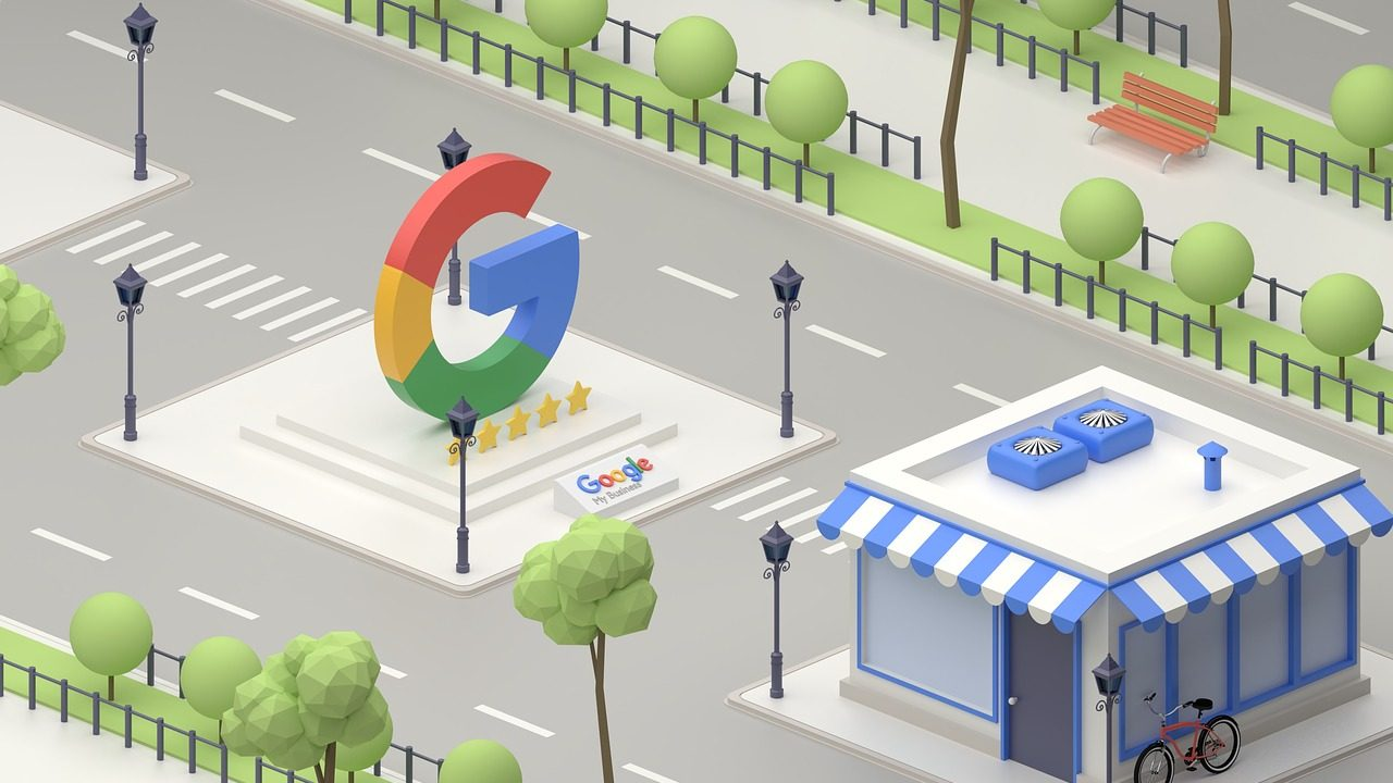 Local Google Map Ads