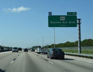 Boynton Beach I95 Exit 86