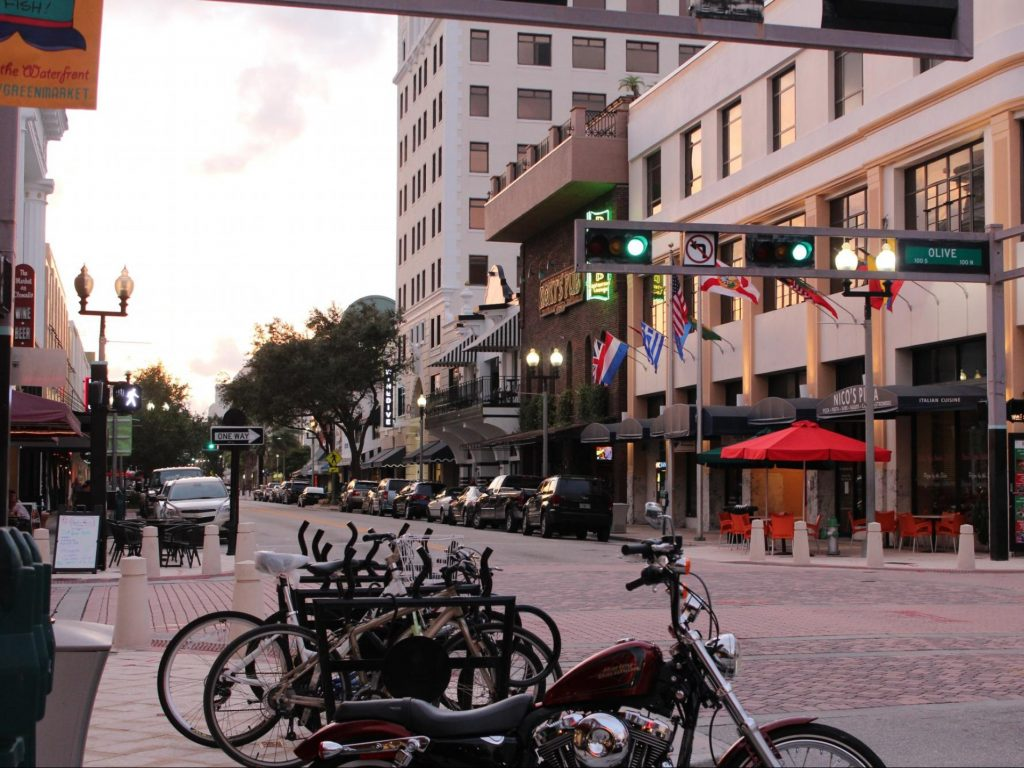 Downtown West Palm Beach Clematis Street