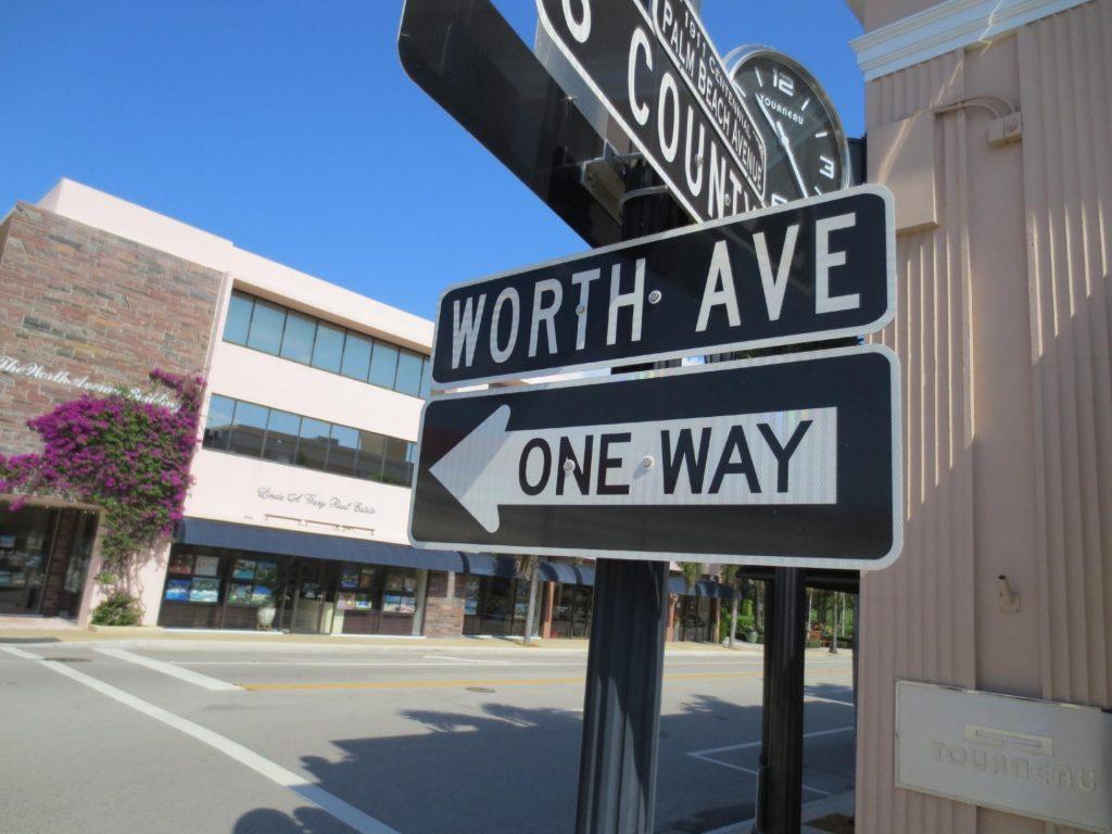 Worth Avenue in Palm Beach, FL